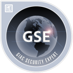 Link to Dallas Haselhorst GIAC Security Expert (GSE)