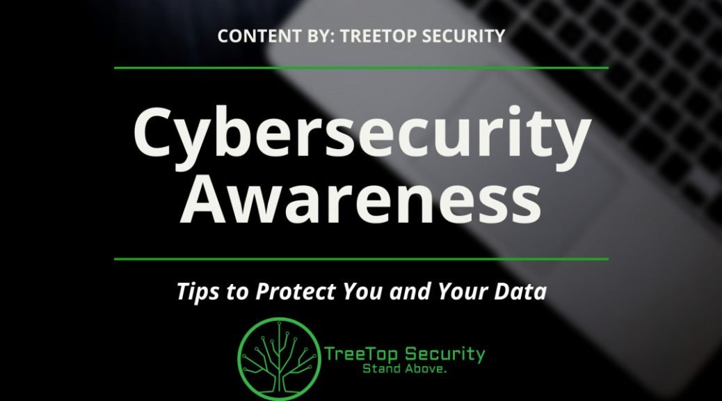 treetop cybersecurity awareness training slide deck