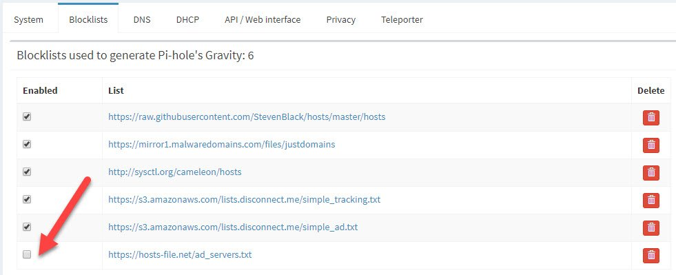 pi-hole-hosts-file.net-remove